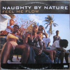 """Naughty By Nature - Feel Me Flow / Hang Out And Hustle, 12"""""""