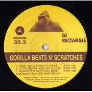 DJ Rectangle - Gorilla Beats N' Scratches, LP