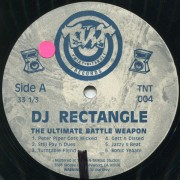 DJ Rectangle - The Ultimate Battle Weapon, LP