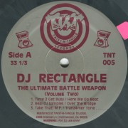 DJ Rectangle - The Ultimate Battle Weapon (Volume Two), 12""