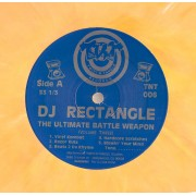 DJ Rectangle - The Ultimate Battle Weapon (Volume Three), 2x12""