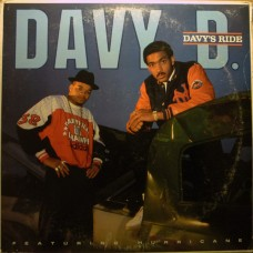 Davy D Featuring Hurricane - Davy's Ride, LP