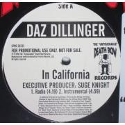 """Daz Dillinger - In California, 12"""", Promo"""