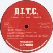 "Diggin In The Crates - Day One, 12"", Promo"