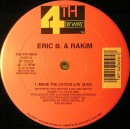 "Eric B. & Rakim - Move The Crowd / Paid In Full, 12"", Repress"