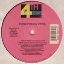 """Funkytown Pros - White Green / Brutally Wild, 12"""""""