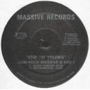 Jam Rock Massive and KRS-1 - Stop The Violence, 12""