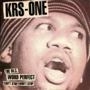 KRS-One - Can't Stop, Won't Stop / The MC / Word Perfect, 12""