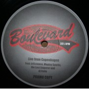 """The Boulevard Connection - Live From Copenhagen, 12"""", Promo"""