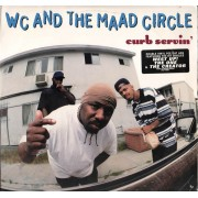 WC And The Maad Circle - Curb Servin' (Clean & Edited Version), 2xLP, Promo