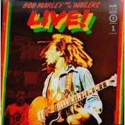 Bob Marley And The Wailers - Live!, LP, Reissue