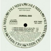 "Jamal-Ski - African Border / Put It On, 12"", Promo"