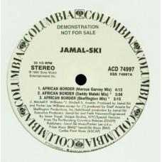 "Jamal-Ski - African Border / Put It On, 12"", Promo"
