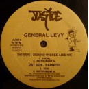 "General Levy - Dem No Wicked Like We / Badness, 12"", Repress"