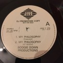 "Boogie Down Productions - My Philosophy, 12"", Promo"