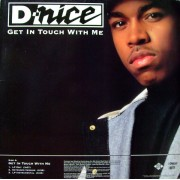 """D-Nice - Get In Touch With Me / To Tha Rescue, 12"""""""