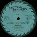 "Hashim - We're Rocking The Planet, 12"", Reissue"