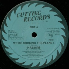 """Hashim - We're Rocking The Planet, 12"""", Reissue"""