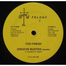 """Too Fresh - Groove Busted, 12"""""""