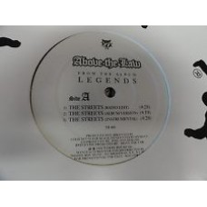 "Above The Law - The Streets / Be About Yo Bizniz, 12"", Promo"