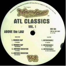 Above The Law - ATL Classics Vol. 1, 12""