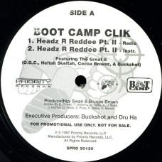 "Boot Camp Clik - Headz R Reddee Pt. II, 12"", Promo"
