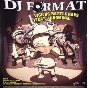 "DJ Format Feat. Abdominal - Vicious Battle Raps / Ill Culinary Behaviour (Remixes), 12"""