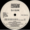 "DJ Quik - Born And Raised In Compton / Sweet Black Pussy, 12"", Promo"