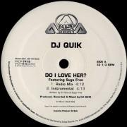 """DJ Quik - Do I Love Her?, 12"""", Promo"""