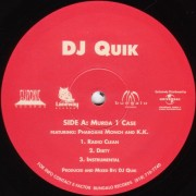 "DJ Quik - Murda 1 Case / Trouble (Remix Part 3), 12"""