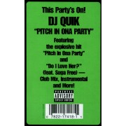 """DJ Quik - Pitch In Ona Party, 12"""""""