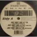 Eminem - Just Don't Give A F*ck, 12""