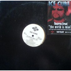 "Ice Cube - The World Is Mine, 12"", Promo"