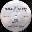 "King Tee - Bass, 12"""