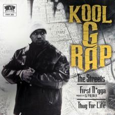 """Kool G Rap - The Streets / First Nigga / Thug For Life, 12"""""""