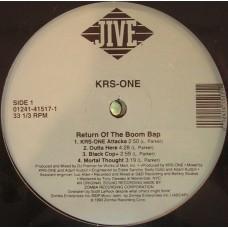 KRS-One - Return Of The Boom Bap, 2xLP, Repress