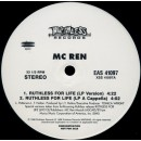 "MC Ren - Ruthless For Life, 12"", Promo"