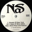 "Nas - Streets Of New York EP, 12"", EP, Promo, White Label"
