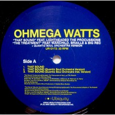 "Ohmega Watts - That Sound / The Treatment, 12"""