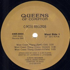 """Queens Of Compton - West Coast Thang, 12"""""""