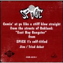 "Spice 1 - East Bay Gangster, 12"", Promo"