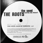 """The Roots Featuring Cody ChesnuTT - The Seed, 12"""", Promo Sided"""
