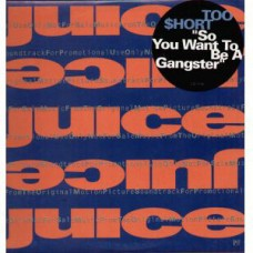 """Too $hort - So You Want To Be A Gangster, 12"""", Promo"""