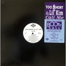 "Too Short & Lil' Kim - Call Me, 12"", Promo"