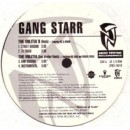 Gang Starr - The Militia II (Remix) / 1/2 & 1/2, 12""