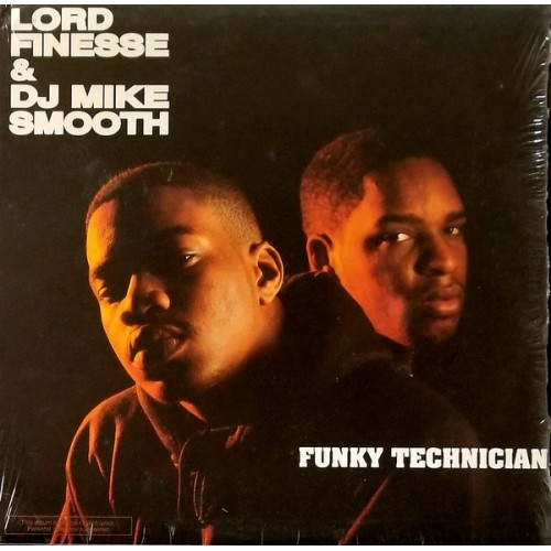 Lord Finesse & DJ Mike Smooth - Funky Technician, LP, Reissue