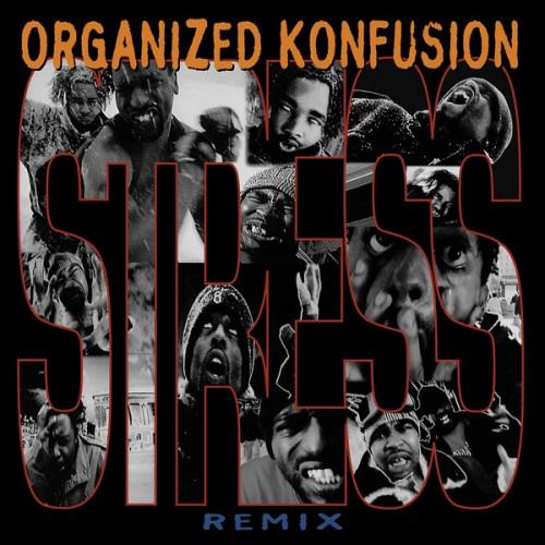 """Organized Konfusion - Stress (Large Pro Remix), 7"""""""