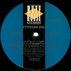"""Cypress Hill - Throw Your Set In The Air, 12"""", Promo"""
