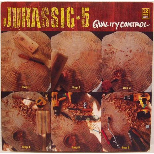 "Jurassic 5 - Quality Control, 12"", Reissue"