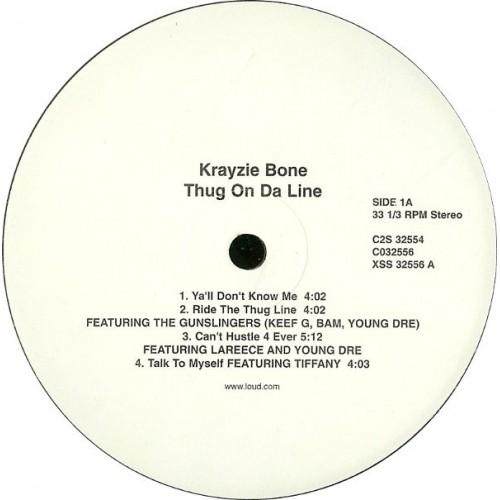 Krayzie Bone - Thug On Da Line, 2xLP
